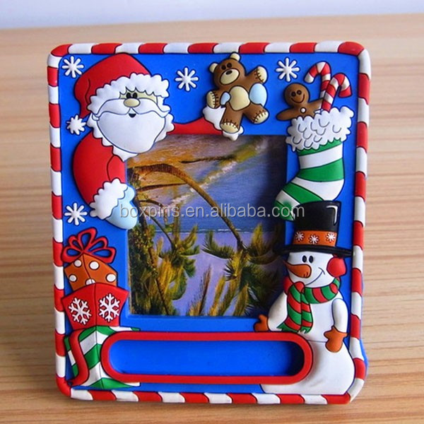 custom made personalized children 3D ski soft pvc picture photo frame