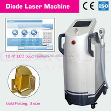 "8""/ 10.4"" TFT Chromatic Touch Screen laser/High energy 600w 808nm hair removal laser"