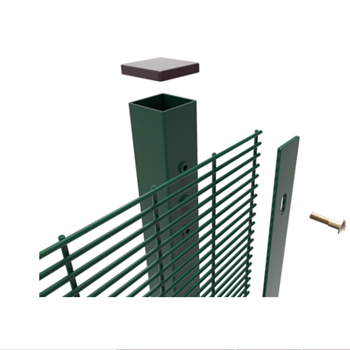 Hot sale Vandalism resistance anti-climb 358 security fence clearvu fencing