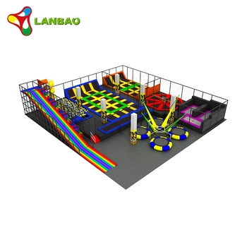 Indoor playground children jumping mat profession trampoline park equipment for sale