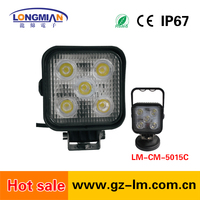 15w commercial electric led work bench light for Offroad SUV Cars Round Car