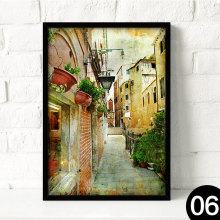 High quality wall pictures for hotels framed canvas art