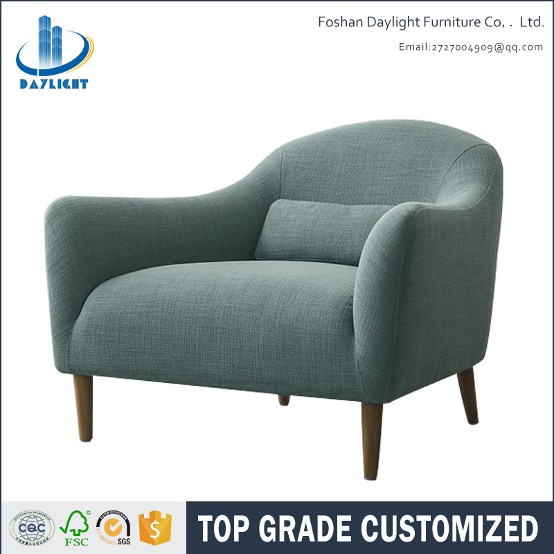 Most popular Nordic style modern fabric design Leisure chair sofa chair