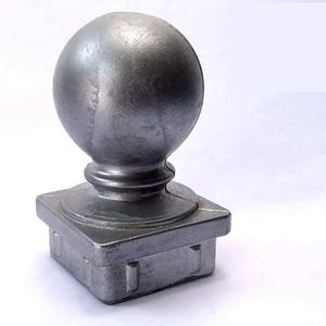 50x50,65x65 decorative square base Aluminum fence post custom ball caps