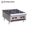 Commercial Hotel Kitchen Equipment 4 Burners table top gas stove
