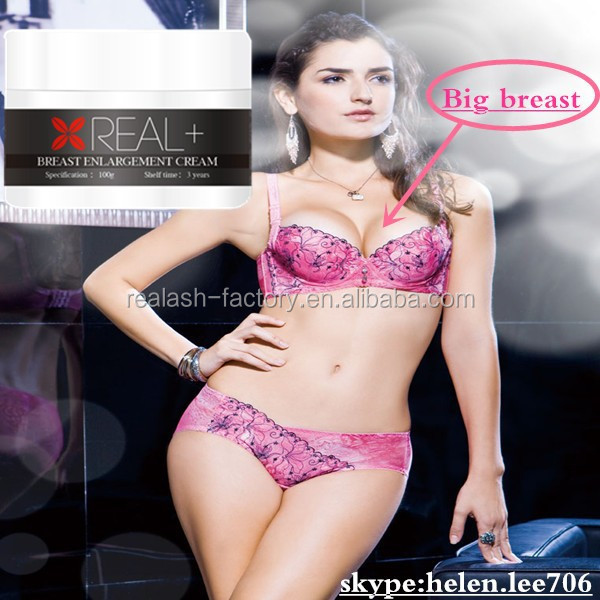 Stimulated Real+ breast enhancement/female chest enlargement/high quality cream for enhancing breast