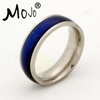 3071df5d69b2b SGS Certificado de alta calidad de banda anillo niños Acero inoxidable  anillos de humor