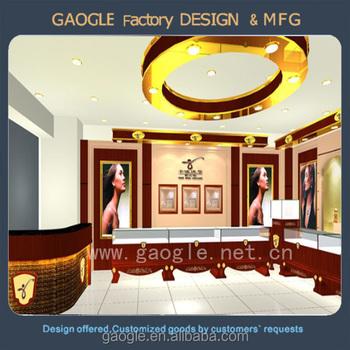 Luxury Jewellery Showroom Designs For Sale Gold Jewelry Display ...