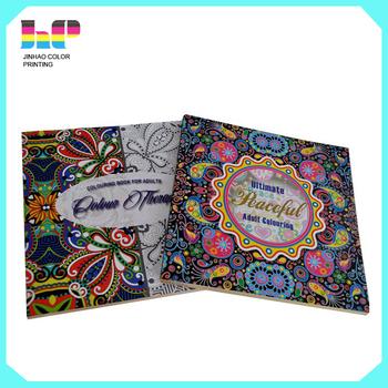 2016 factory direct printint secret garden color book - Garden Coloring Book