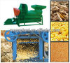 corn husker and sheller/maize thresher and sheller