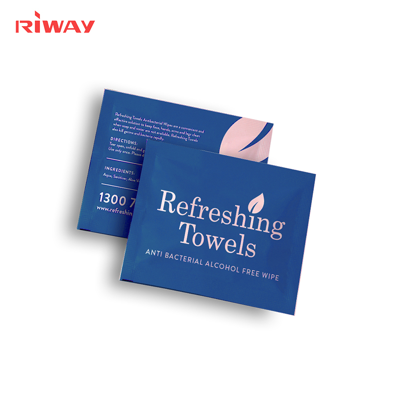 Individually Wrapped Flushable Personal Bathroom Wipes
