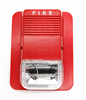 2 wire DC24V 3 alarm sounds fire and burglary alarm system Fire alarm strobe siren