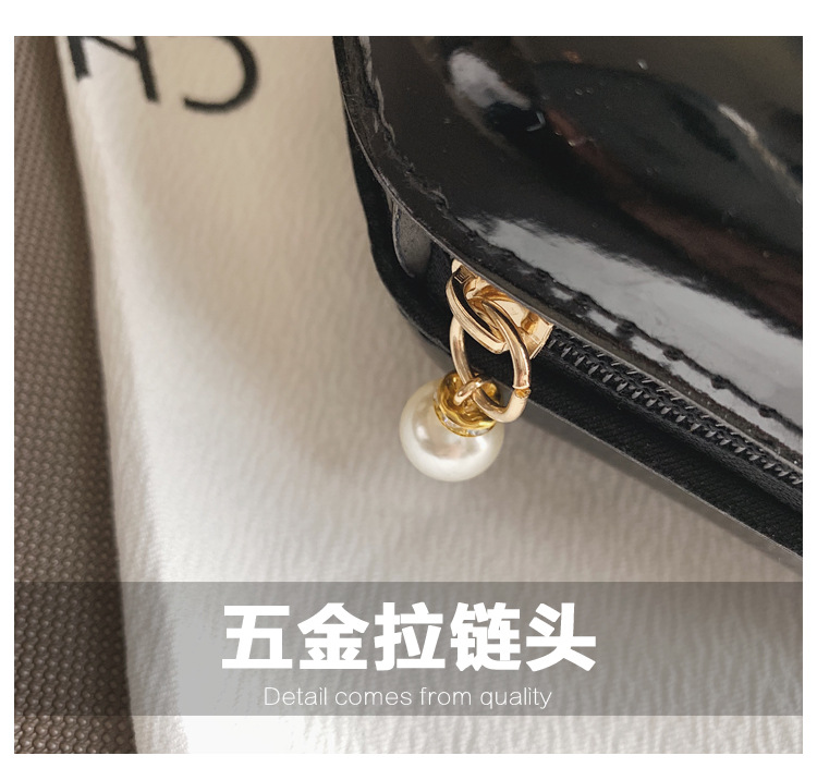 DLB003 korean ladies crossbody high quality elegant chain shoulder bag women travel cute cosmetic bag