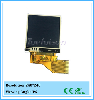 Hot IPS display 240*240 1.54inch touch tft lcd screen for smart watch