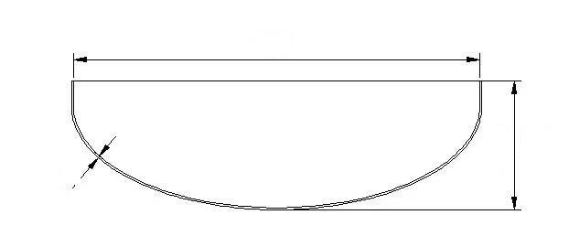 elliptical head