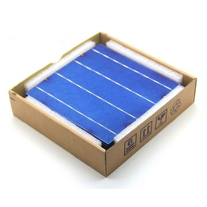 Best price a grade 5BB 20.1% 5w 156x156 polycrystalline solar cell price