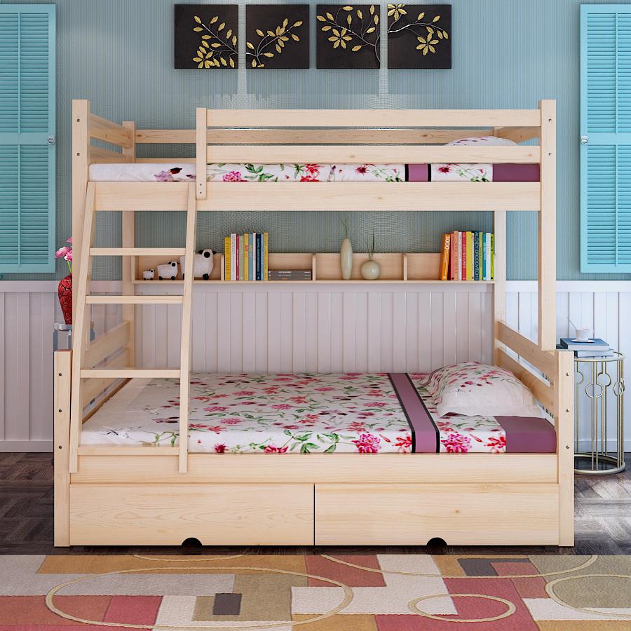 Venta al por mayor camas literas para niñas-Compre online los ...