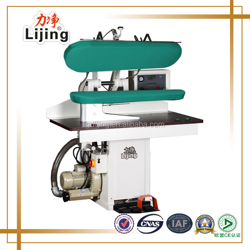 Dry cleaning utility press, cloth pressing machine, fabric industrial steam press iron