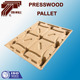 Cheap Fumigation free presswood Pallet four way press wood pallet