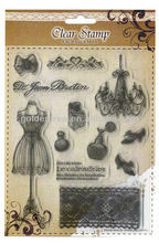 Clear Stamps in assorted designs