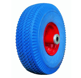 16 inch 400-8prevent puncture , Salt resistance, weathering pu foam solid wheel for boat, ship wheelbarrow