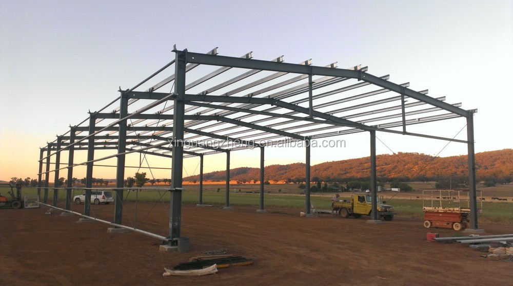 fast construction professional used steel shed