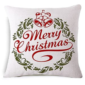 christmas cushion chinese factory cheap wholesale sofa linen decorative cushion