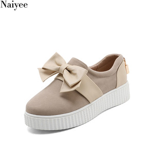 PGY-P88 Suede upper comfort wholesale school smart casual teenage girls shoes 2018