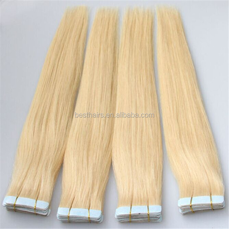 Popular Style african american human tape hair extensions Natural Color Hair 2.5g per piece and 40pcs per Lot
