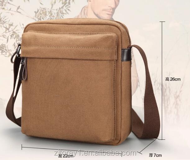 Medium Size Fashion Canvas Sling Bag For Boys - Buy Canvas Sling ...