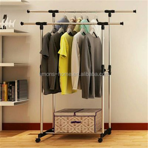 Balcony Clothes Drying Rack With Plastic Parts