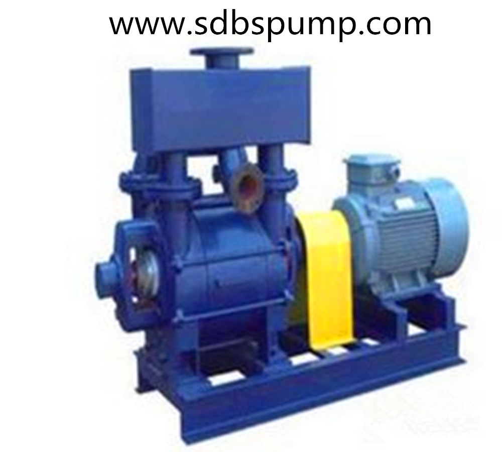 Water cooled types liquid ring air pump
