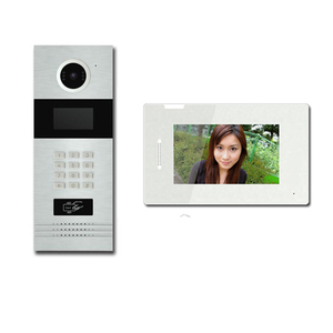 Hot Sale multi Apartment Building IP Video Intercom System video door phone kit