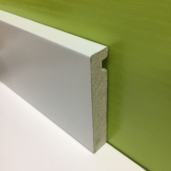 70mm Cheap Modern Plastic Bullnose  b and q Skirting Board