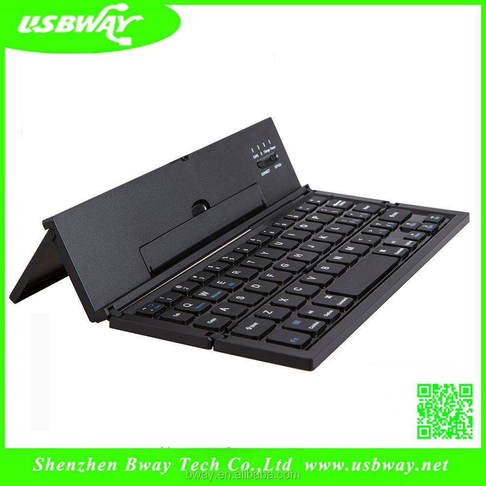 Metal foldable keyboard folding bluetooth keyboard