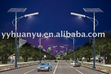 solar street/road lighting pole