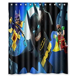 ScottShop Custom Lego Batman Superheroes Waterproof Fabric Polyester Bathroom Shower Curtain 60