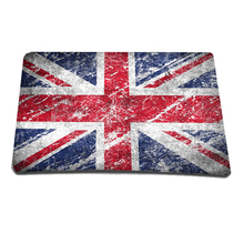 2014 Hot Sale British Flag Mouse Pad Anti-slip Mousepad Slim Silicone Mice Pad Soft Mat Fashion Laptop Accessories All For PC