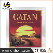 Custom hot selling risky and funny catan board game