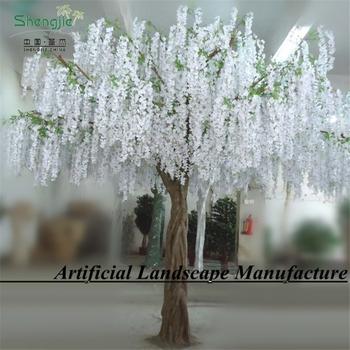 2017 Silk Artificial Wisteria Flower Tree