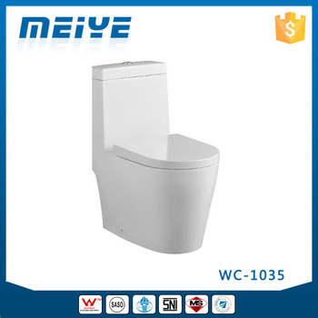 WC 1035 One Piece Toilet With Geberit Or RT Flush Valve Soft Closing