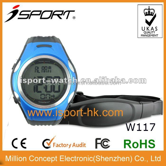 New Design Sport Digital Heart Rate Monitor LED Watch