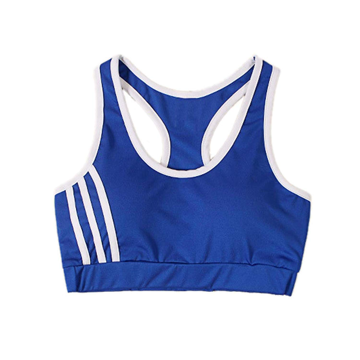 60df84ca9a Get Quotations · Women Yoga Sports Bras Padded Breathable Fitness Gym  Running Athletic Tops