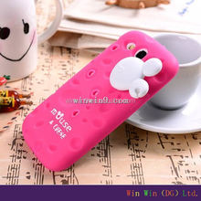 Wholesale soft Animal Shaped 3D silicone phone case maker