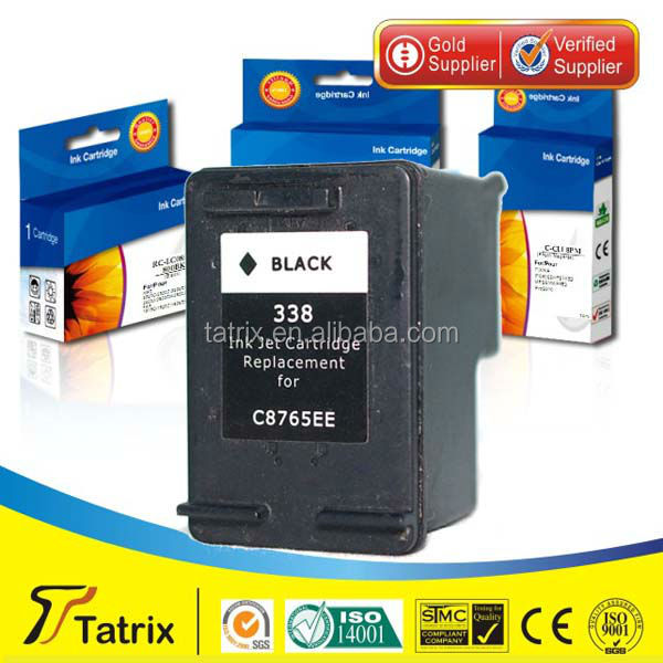 for HP 338 , 338 New Ink Cartridge ,With 100% Defective Replacement.