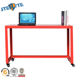 Fashionable Design mobile 4 wheels Laptop Computer Stand desk