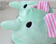 promo code 549dc 32730 Promozione Peluche Dell'elefante Pantofole, Shopping online ...