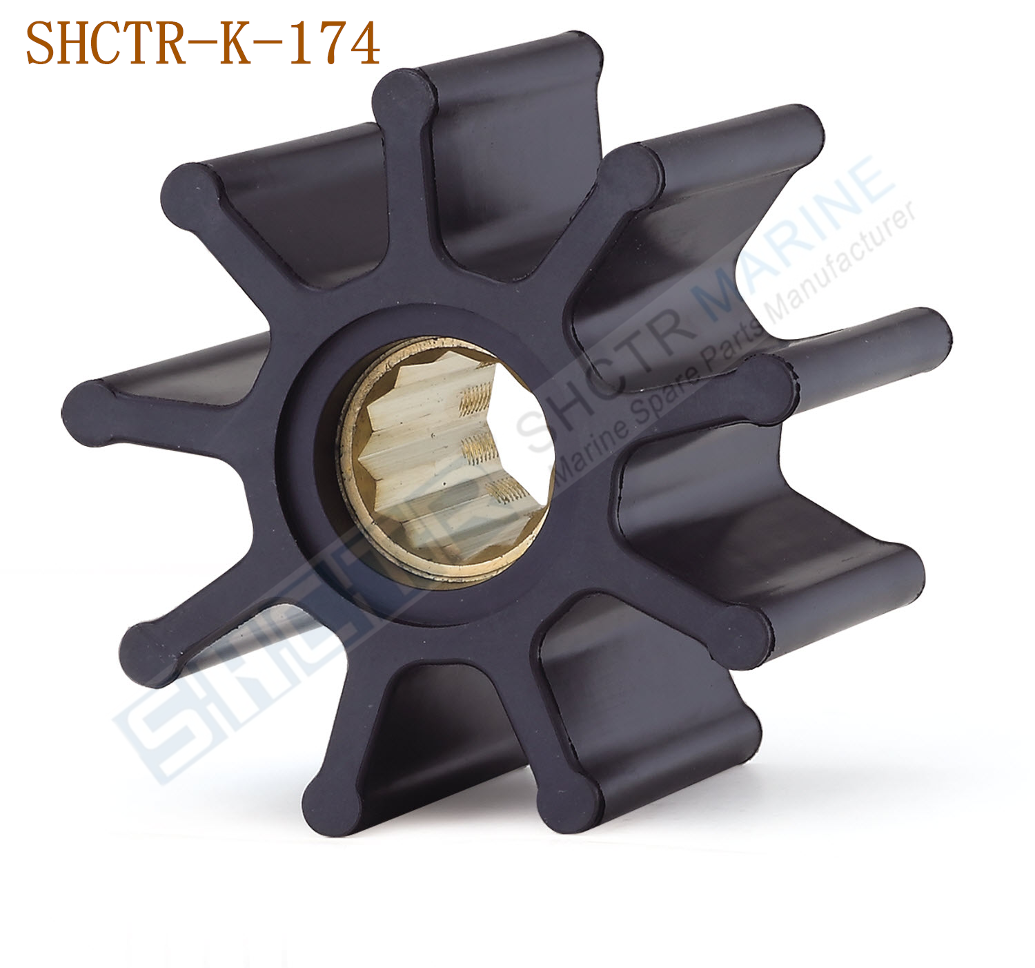 Flexible Impeller for JABSCO 6303-0001 JOHNSON 09-824P 824P 500138 18660-0121