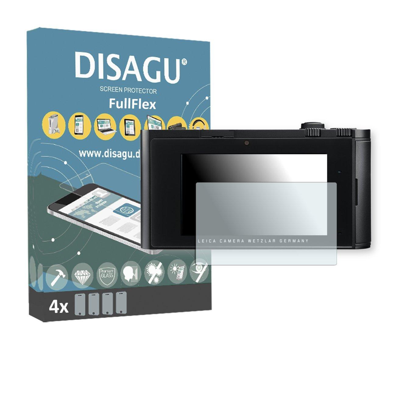 4 x Disagu FullFlex screen protector for Leica T foil screen protector