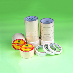20 years  masking tape factory with high quality and cheap price in finish roll and Jumbo roll for painting and daily use